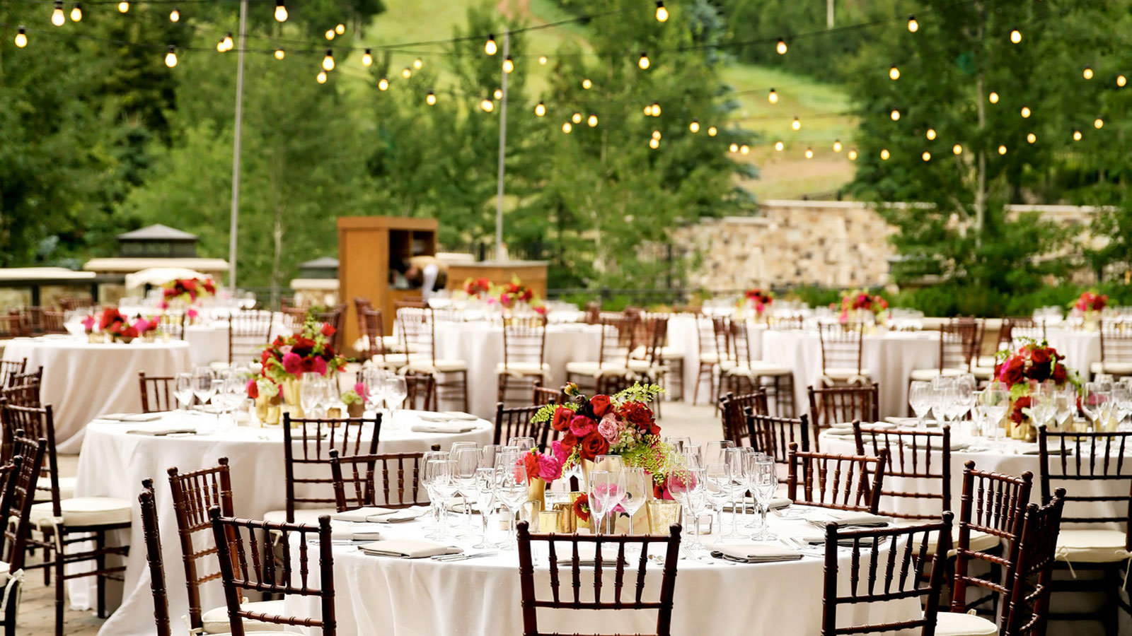 Wedding venues in utah the st regis deer valley for Places for outdoor weddings