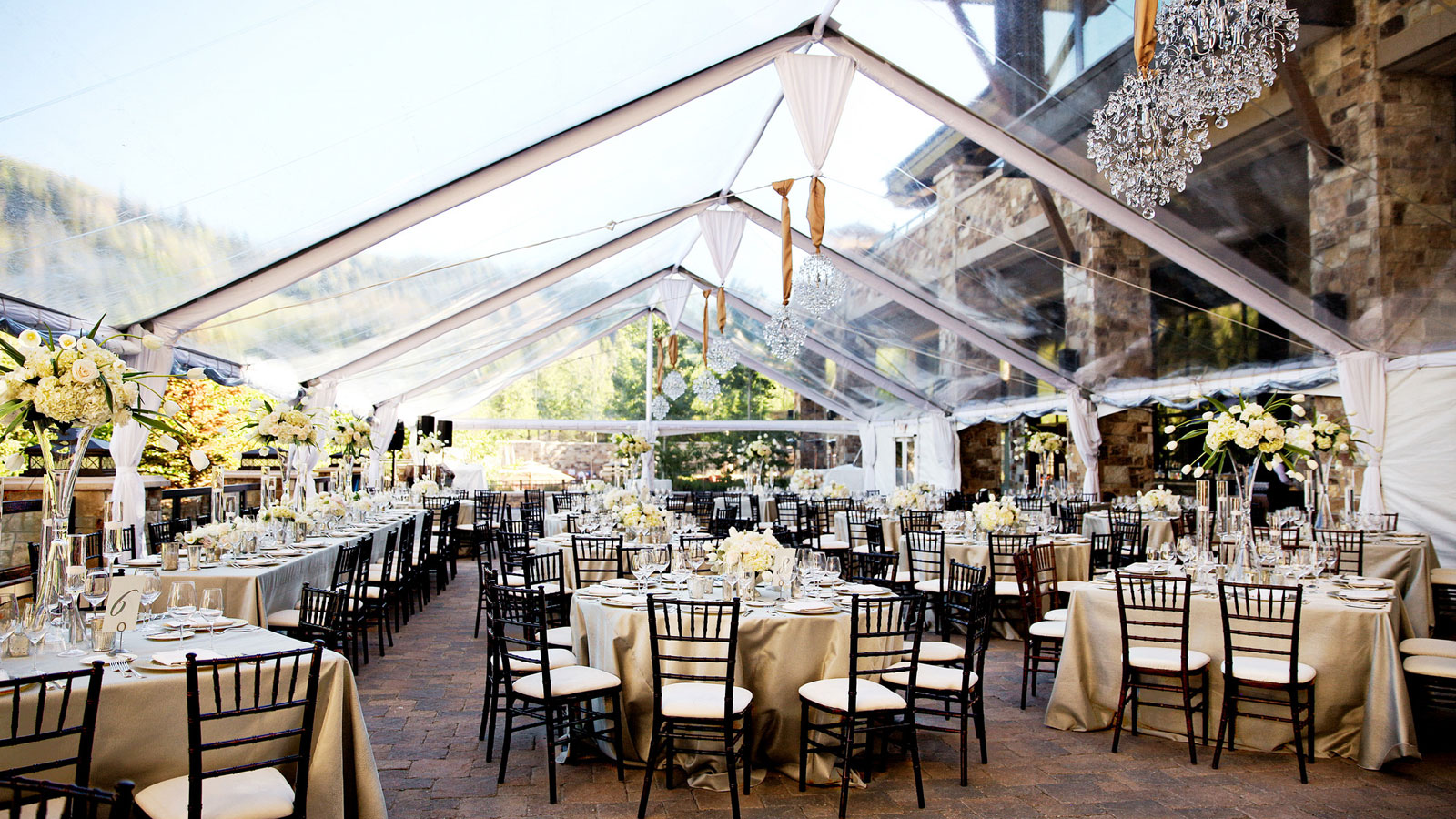 Wedding venues in utah the st regis deer valley the st regis deer valley outdoor terrace junglespirit Images